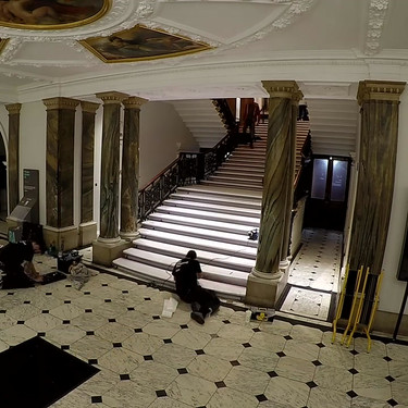 Staircase_installation_RA_–_Picasso_an
