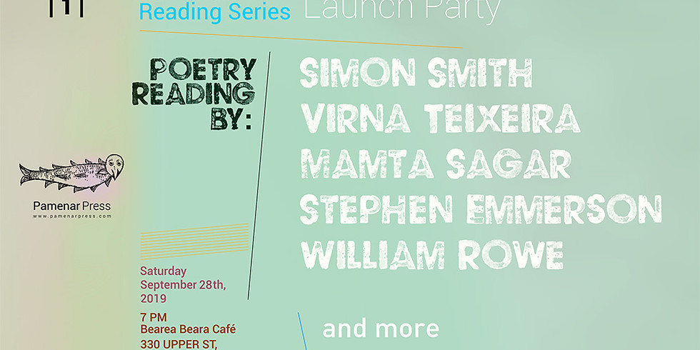 Pamenar Reading Series | 1 | Poetry Reading