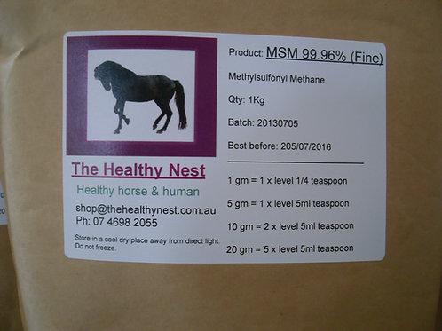 MSM 99.6%(Fine) 1 Kg
