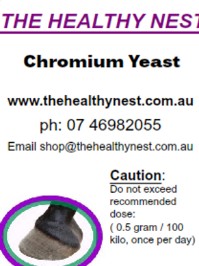 Our Double Strength Chromium Yeast