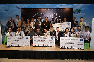 NASA Space Apps Challenge 2018 - Closing