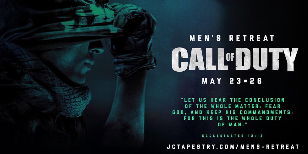 "Tapestry Men: Men's Retreat 2019 ""Call of Duty"""