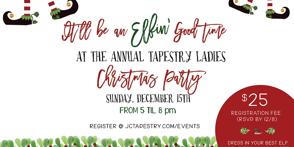Annual Tapestry Ladies Christmas Party