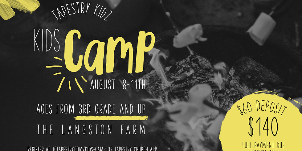 Tapestry Kidz - Kids Camp 2019