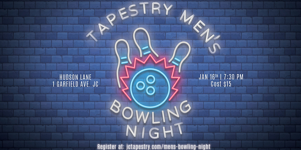 Tapestry Men's Bowling Night