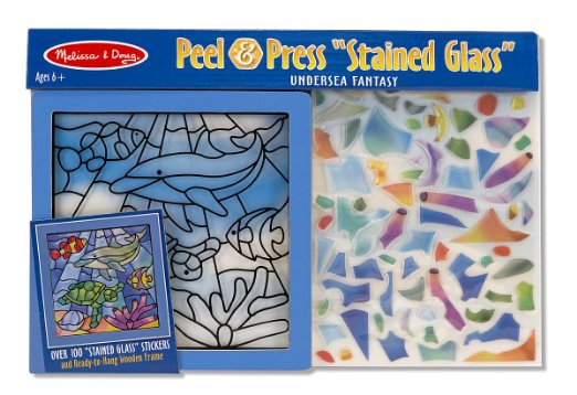 "Melissa & Doug Peel & Press ""Stained Glass"""