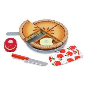 Melissa & Doug Wooden Make & Serve Apple Pie Set