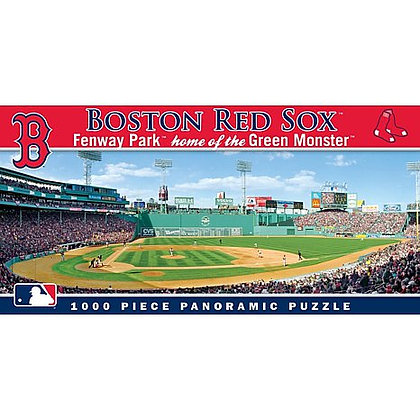 Boston Red Sox Fenway Park Panoramic Puzzle
