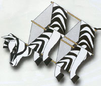 Zebra Box Kite