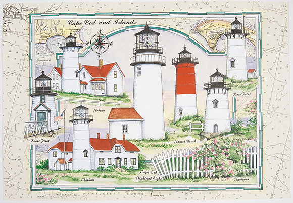 Cape Cod Lighthouses Puzzle