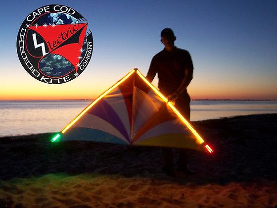 Large Light Up LED Delta Kite