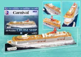 Carnival Cruise Ship 3D Puzzle
