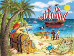 Pirate Treasure Puzzle