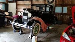 1931 Model-A Clutch repair