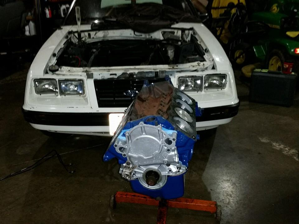 1983 Mustang engine rebild