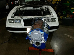 1983 Mustang engine rebild