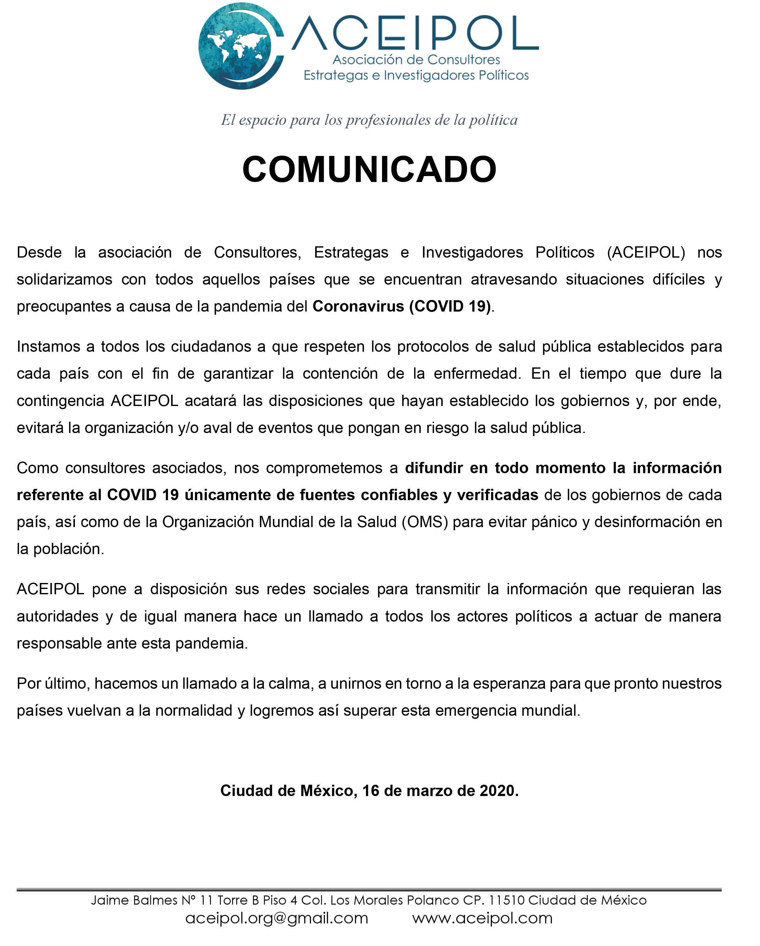 COMUNICADO COVID 19 ACEIPOL-1