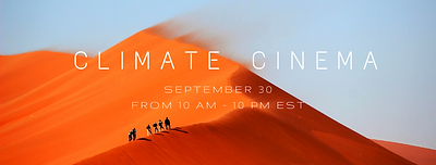 UN General Assembly 2020 Climate Cinema