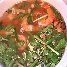 H4. Shrimp Soup (Hủ Tiếu hay Mì Tôm)