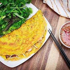 A7. Saigon Golden Pancake (Bánh Xèo)