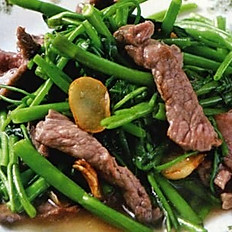GĐ20. Beef with Vietnamese Watercress or Chinese Broccoli