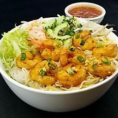 B3. Grilled Shrimp Vermicelli (Bún Tôm Nướng)