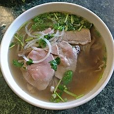 P3. Rare Beef Eye Round and Flank Meat (Phở Tái, Nạm)