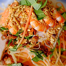 G1.Papaya Salad with Shrimp & Pork (Gỏi Tôm Thịt Đu Đủ)