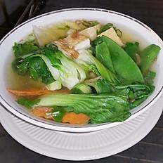 S2. Vegetarian Tofu Soup (Soup Rau, Chay & Đậu Hũ)
