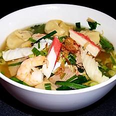 H7. Wonton Egg Noodle Soup Combo