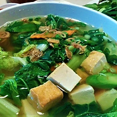 H8. Vegetable and Tofu Noodle Soup (Hủ Tiếu hay Mì Chay)