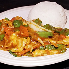 GĐ17. Curry Chicken Stir Fried