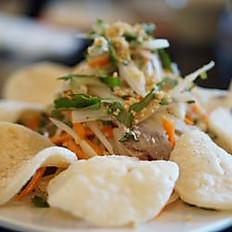 G4.Lotus Salad with Shrimp & Pork (Gỏi Ngó Sen Tôm Thịt & Bánh Phồng Tôm)