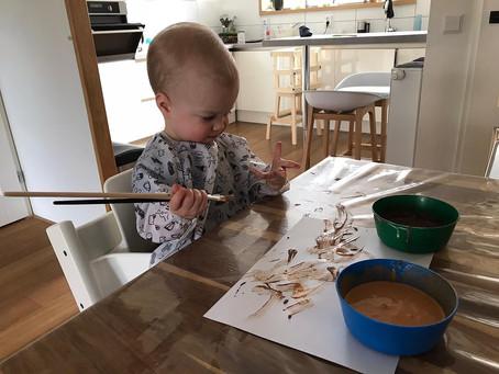 DIY: natuurlijke, kindvriendelijke verf maken
