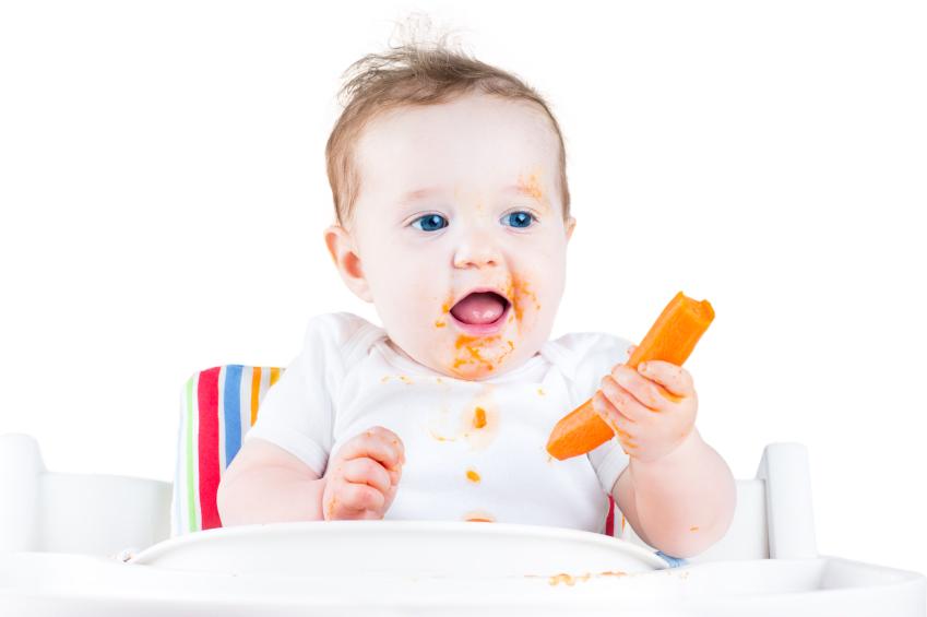 Wanneer Begin Je Met De Eerste Hapjes Mamablog Natuurlijk