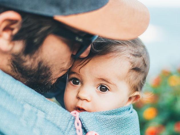 scheiden met een baby