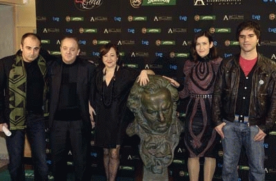 Foto prensa Goyas 2009