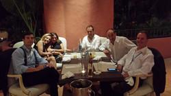 Con Javier Sierra y amigos