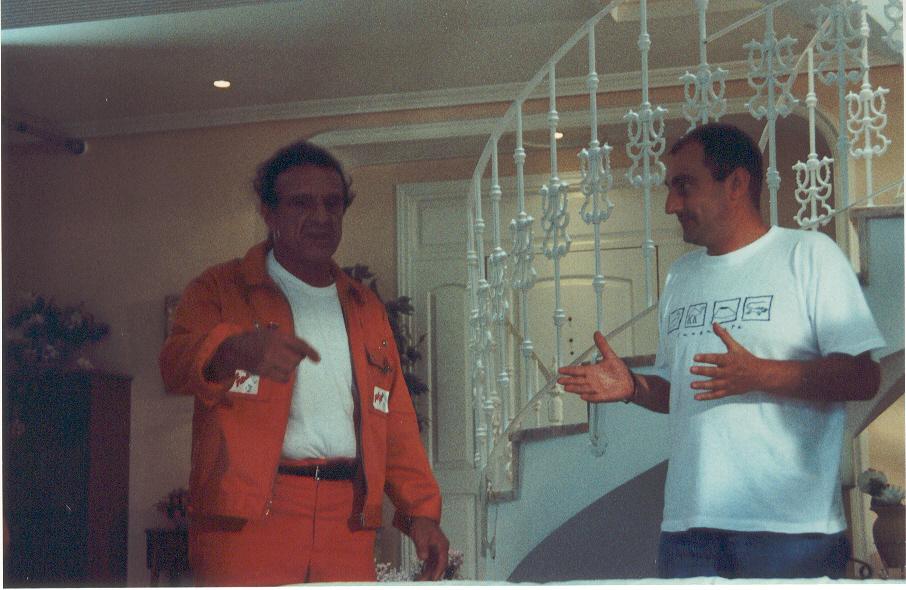Dirigiendo a Jango Edwards 2000
