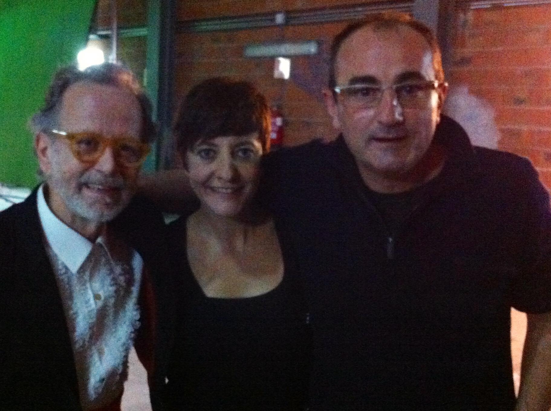 Eva Hache y Fernando Colomo