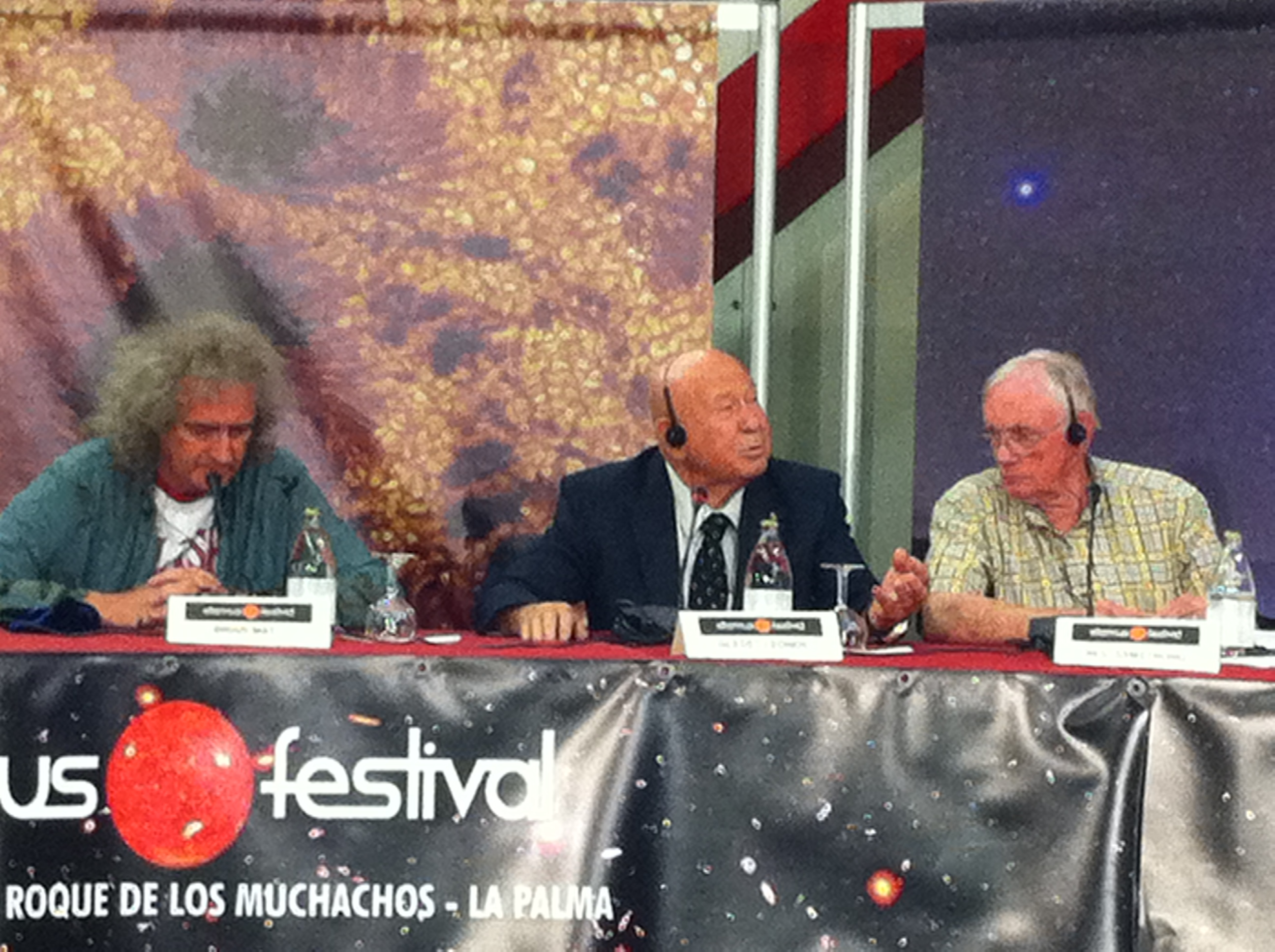 Brian May, A. Leonov, Neil Amstrong