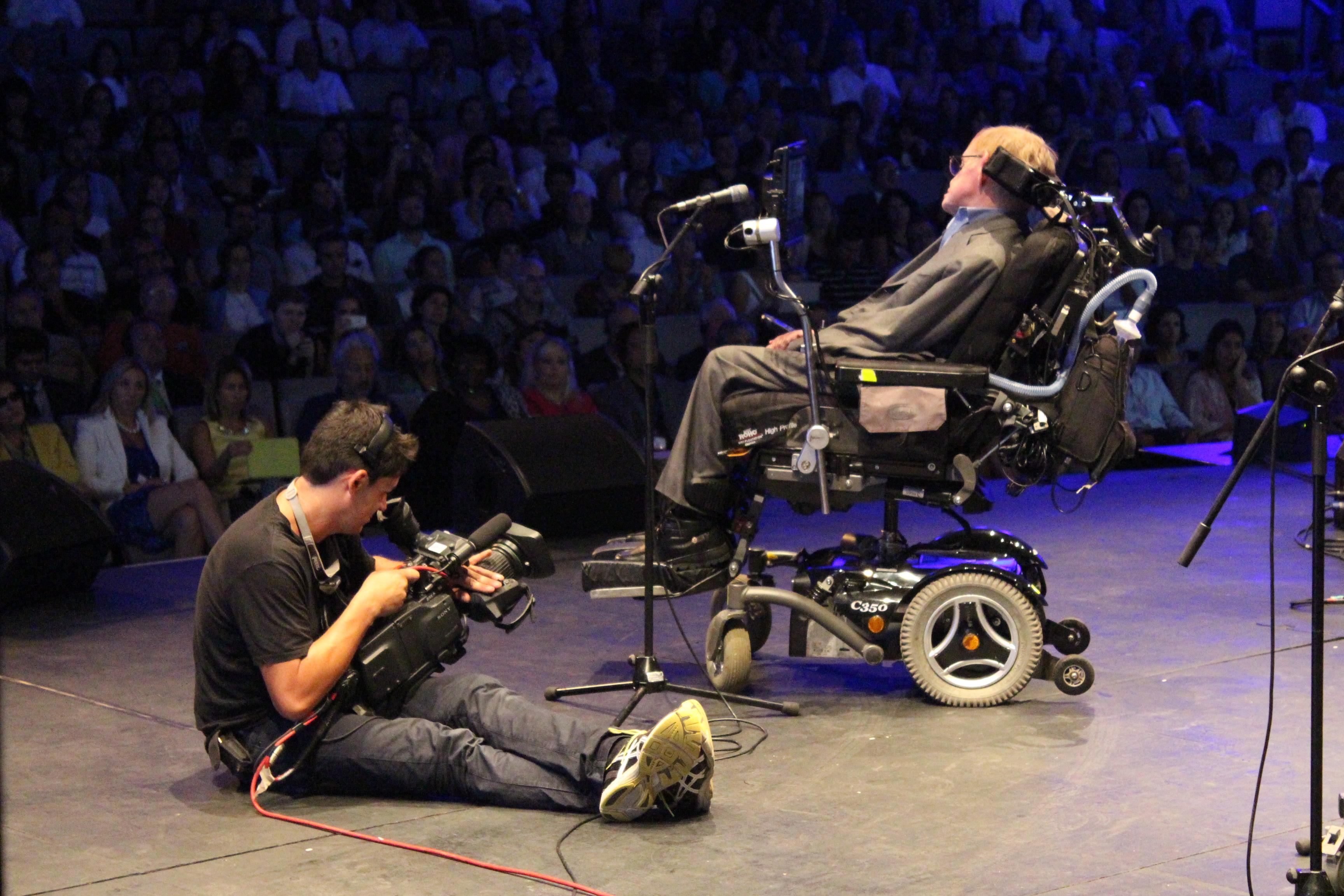 Stephen Hawking en el Auditorium