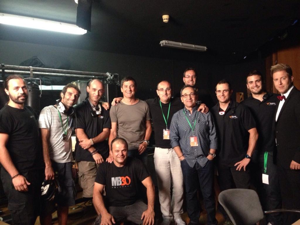 Parte del equipo de 7TV