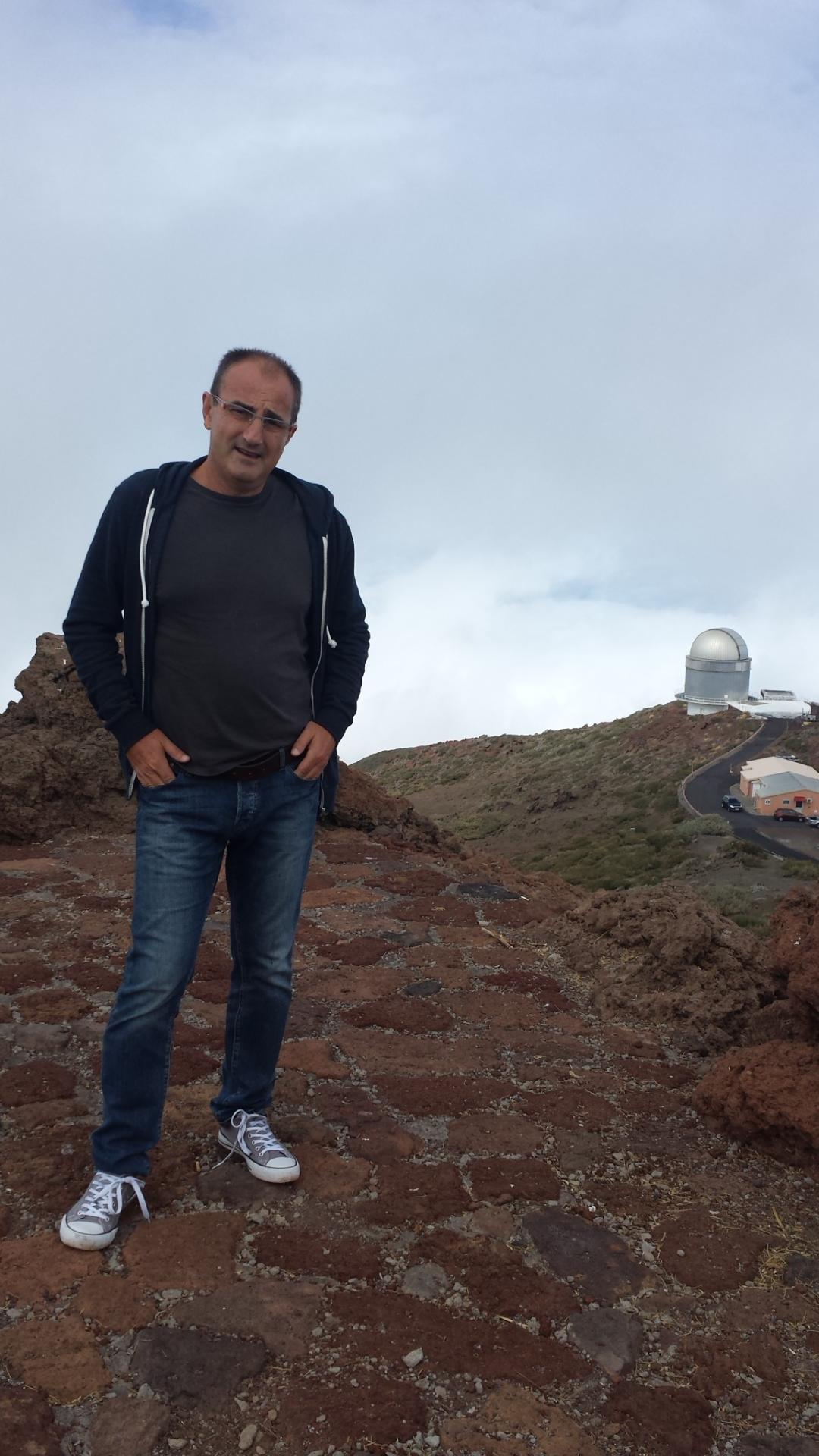 En Roque de los Muchachos, La Palma