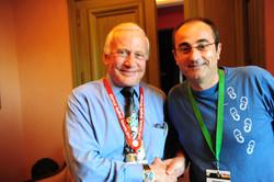 Con Buzz Aldrin