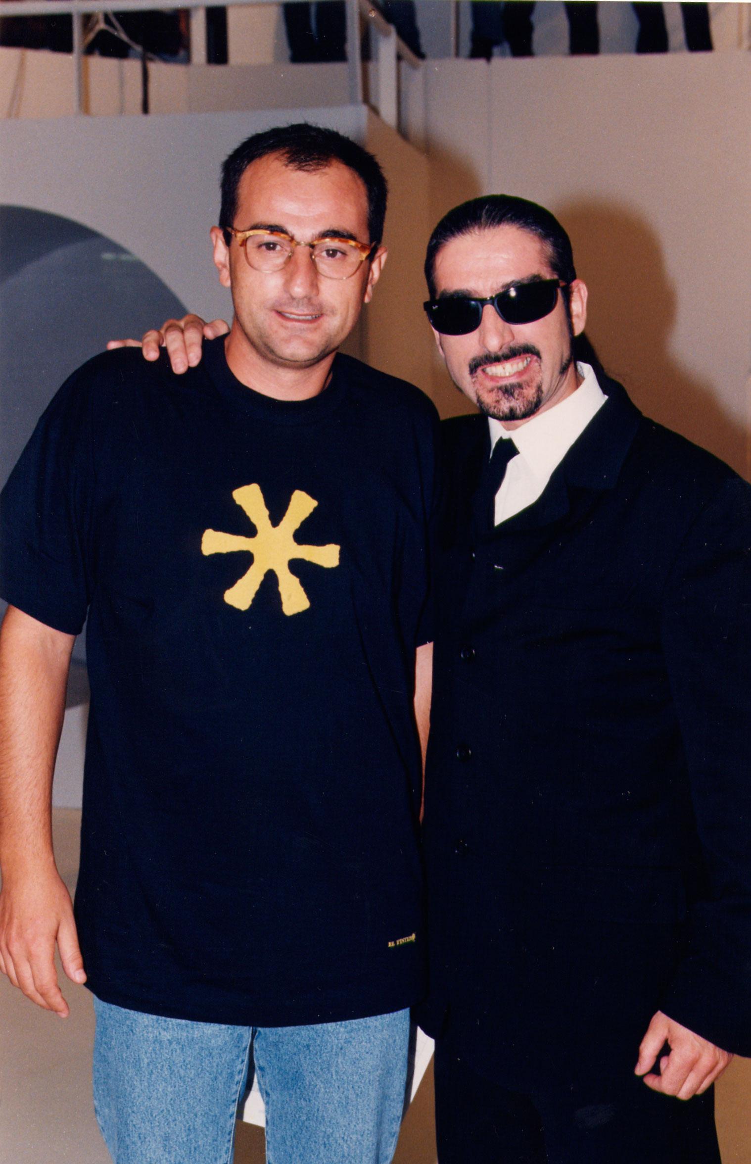 Sergio Pazos 1997 en Lo + Plus