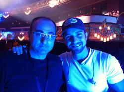 Con Pablo Alborán