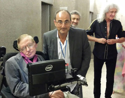 Stephen Hawking y Brian May