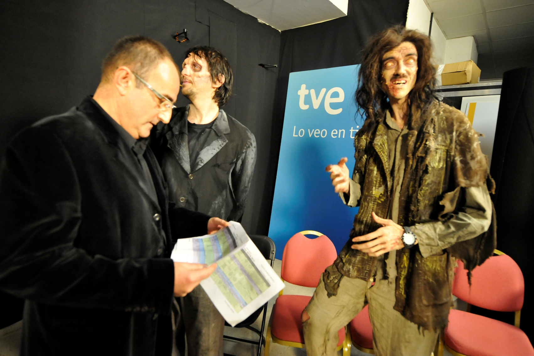 Manel en Backstage de los Goya 2014