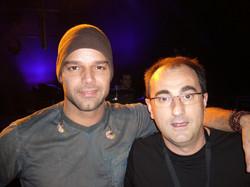 Ricky Martin ensayos Ondas 2005